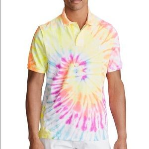 Polo Ralph Lauren Tie Dye Classic Fit Polo Shirt